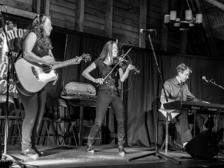 Ross Family on stage at Clinton Hills